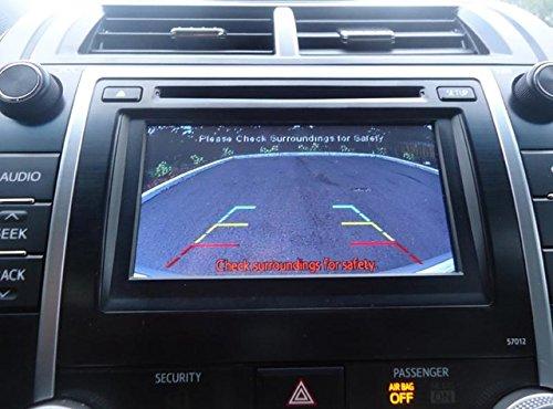 Toyota Rear Backup Camera Kit for Camry, Corolla, Prius, Rav4 (2012, 2013, 2014)