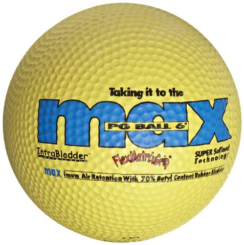 SportimeMax Playground Balls - 6 Inch - Yellow