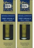 2 Pack - RoC Retinol Correxion Deep Wrinkle Night Cream 1.1 fl. oz (33ml)