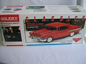 Solidex VHS 1957 Red Chevy Cassette Rewinder