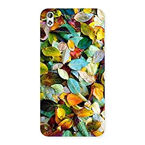Stylish Colorfull Leafs Back Case Cover for HTC Desire 816g