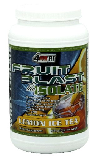 4Ever Fit  Whey Protein Isolate, Fruit Blast the Isolate, Lemon Iced Tea , 2-Pound Package
