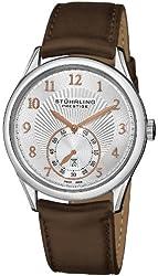 Stuhrling Prestige Men's 171B3.331K2 Prestige Swiss Made Adamant Automatic Date Brown Watch