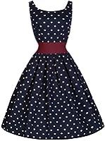 Lindy Bop 'Lana' Millésime Cinquantaines Style Pois Robe De Swing
