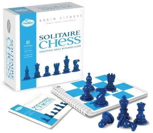 Asmodee - TFSCBF - Jeu de Stratégie - Solitaire Chess - Brain fitness
