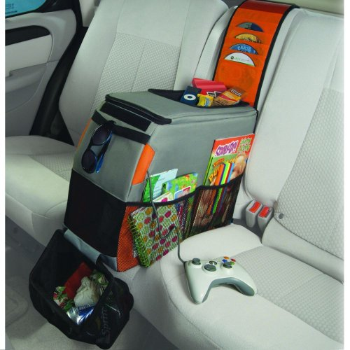 Reese Carry Power Back Seat Activity Center With Detachable Dvd Storage And Trash Bag front-228983