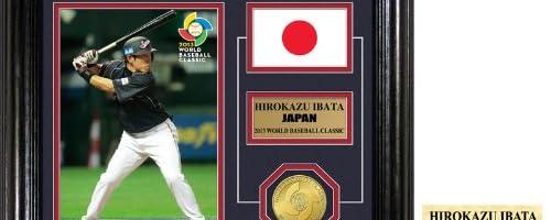 【予約】井端 弘和 2013 WBC チームジャパン デスクトップ・フォトプラーク (Hirokazu Ibata WBC Team Japan Bronze Coin Desktop Photo Mint)★4月中旬入荷予定!