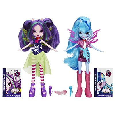 My Little Pony Equestria Girls Aria Blaze and Sonata Dusk Doll, 2-Pack by My Little Pony