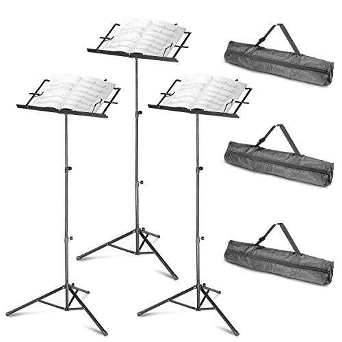 neewerr-3-pack-pliable-177-42-45cm-107cm-hauteur-ajustable-pupitre-musique-pour-partitions-avec-soli