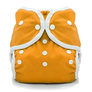 Thirsties Duo Wrap Snap, Mango, Size Two (18-40 lbs)