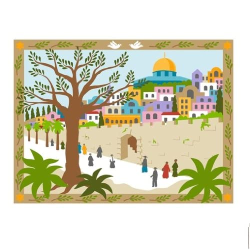 jerusalem wall mural paint by number wall mural wall. Black Bedroom Furniture Sets. Home Design Ideas