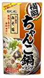 モランボン 横綱ちゃんこ鍋用スープ だし薫るみそ味 750g×10袋