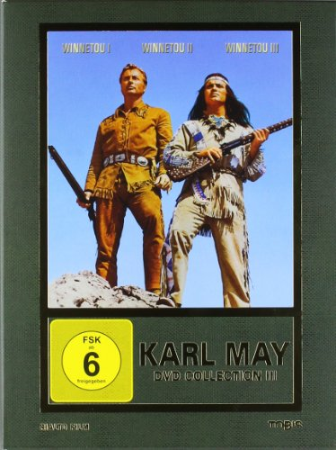 Karl May DVD-Collection 3 (Winnetou I / Winnetou II / Winnetou III) (3 DVDs) [Limited Edition]
