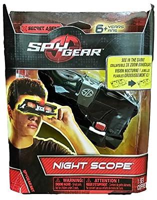 Spy Gear Night Scope 3X Zoom Binoculars, See In The Dark! by Spy Gear