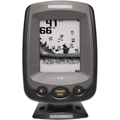 Humminbird PiranhaMAX 170 4-Inch Waterproof Fishfinder and Dual-Beam Transducer