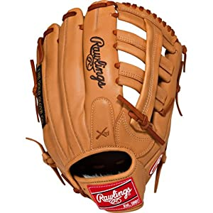 Rawlings GDC1250 Gold Glove Gamer Dual Core 12.5 inch Baseball Glove (Left Handed Throw)