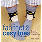The Craft Library: Knits for Fab Feet & Cosy Toes: Over 30 Designs for Knitted Socksby Anna Tillman