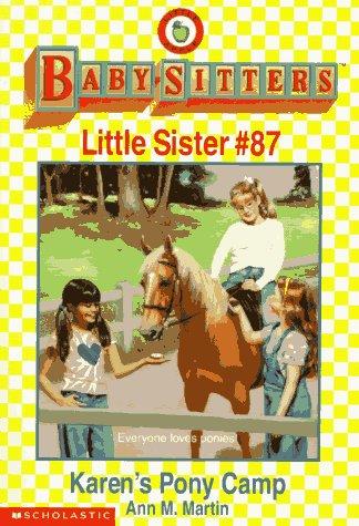 Karen's Pony Camp (Baby-Sitters Little Sister)