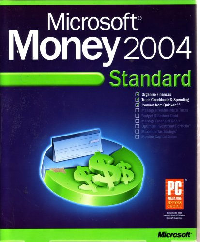 Microsoft Money 2004 Standard