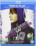 Justin Bieber - Never Say Never - Triple Play (Blu-ray + DVD+ Digital Copy) [2011]