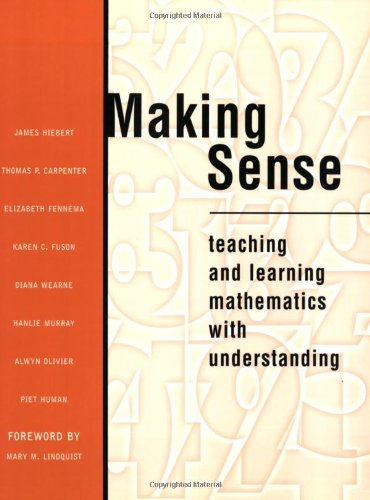 Making Sense: Teaching and Learning Mathematics with Understanding (Making Sense Math compare prices)