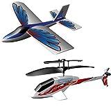 """Silverlit 87380 - PicooZ & X-Twin Sport Set, Hubschrauber + Flugzeug + 2 Fernbedienungenvon """"Silverlit"""""""