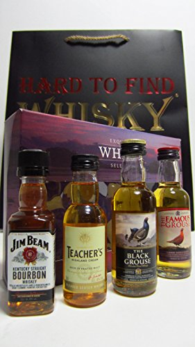 famous-grouse-jim-beam-famous-grouse-teachers-miniatures-gift-set-hard-to-find-whisky-edition-whisky