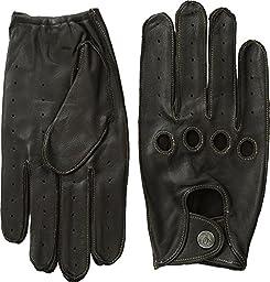 Original Penguin Men\'s Sheepskin Driving Gloves, Brown, Small
