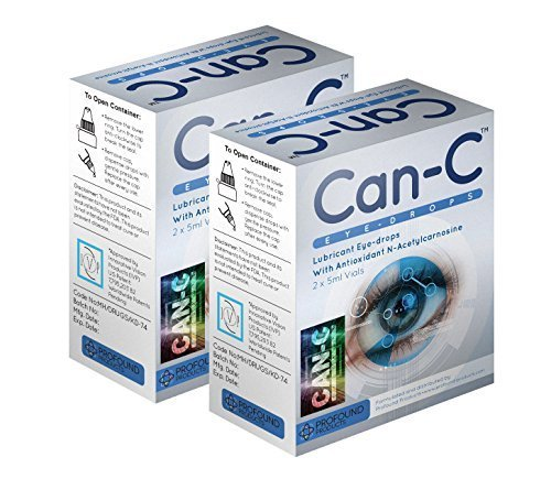 Can-c Eye-drops Two Boxes: Contains Four 5ml Vials by Can-C (Can C Drops compare prices)