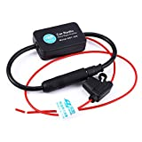 AutoLover® An-208 Radio FM Antenna Signal Amplifier Booster for Marine Car Boat RV DC12V