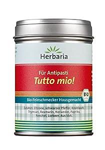 Herbaria Bio Tutto Mio Hausgemacht (8 x 65 gr) from Herbaria-Kräuterparadies GmbH
