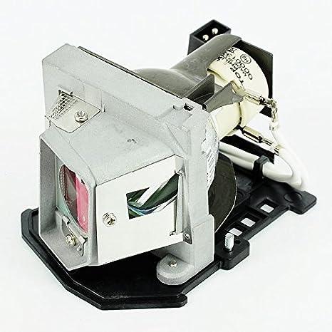 haiwo 317-2531/725-10193de haute qualité Ampoule de projecteur de remplacement compatible avec boîtier pour Dell 1210S.