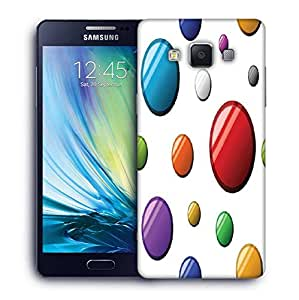 Snoogg Colorful Balls Printed Protective Phone Back Case Cover For Samsung Galaxy A5
