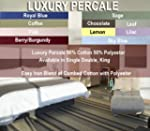 Textiles Direct Percale White Double...