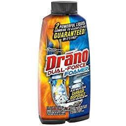 Drano Professional Strength Foamer Clog Remover 17 fl oz(pack of 2)