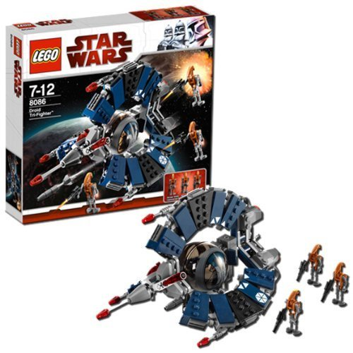 lego star wars droid tri fighter instructions