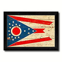 Ohio State Flag State Vintage Flag Collection Western Interior Design Souvenir Gift Ideas Wall Art Home Decor Office Decoration - 23\