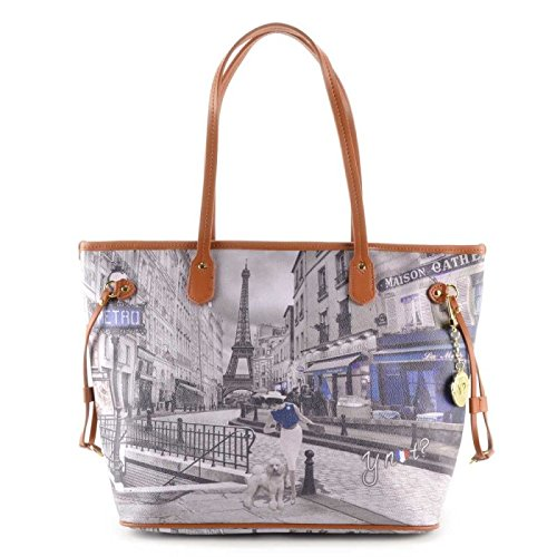 Borsa Shopping grande Y Not - G319 Metro Parisienne
