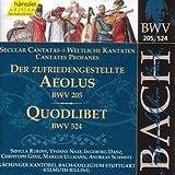 Edition Bachakademie Vol. 63 (Weltliche Kantaten BWV 205 und BWV 524))