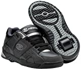 Heelys Sport Black Roller Skate Shoes Size 1 UK
