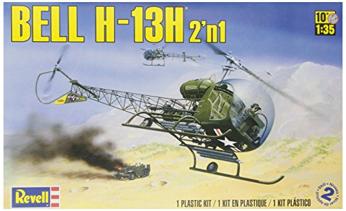Revell 1:35 Bell H-13H 2-In-1 front-1061596