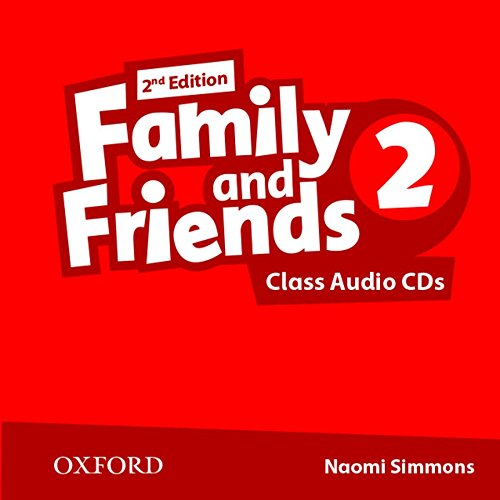 Family and Friends: Level 2: Class Audio CD (2 Discs)