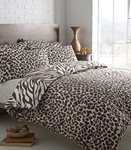 partager facebook twitter pinterest animal print housse de. Black Bedroom Furniture Sets. Home Design Ideas