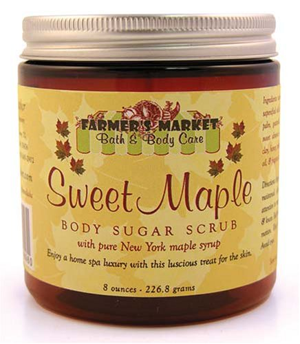 Sweet Maple Body Sugar Scrub