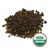 Starwest Botanicals Organic Black Peppercorns, 1-pound Bag