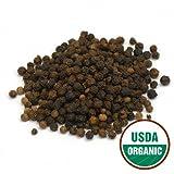 Starwest Botanicals Organic Black Peppercorns, 1-pound Bag