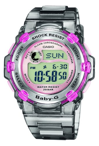 Casio Baby-G BG-3000-8ER Women's Digital Quartz Watch with Resin Strap