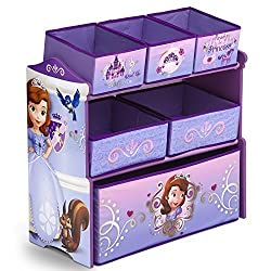 Delta Children Sofia The First Multi Bin Storage Organizer