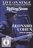 Leonard Cohen - Live in London/Live on Stage