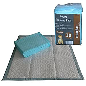 30 Puppy Training Pads House Toilet Dog Training Absorbent Wee Pad